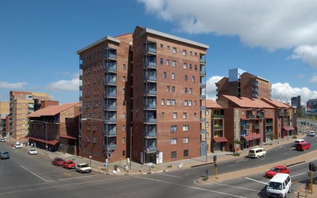 ckfields Social Housing Precinct Newtown, Johannesburg